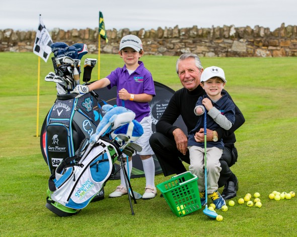 Big Names Out In Force As Fairmont St Andrews Beats The Weather