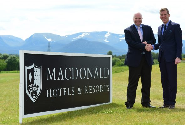 Scottish Golf Union Puts Macdonald Hotels Resorts On Team Sheet