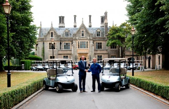 Foxhills Collection First In UK To Offer E-Z-GO TKV GPS GOLF CARS