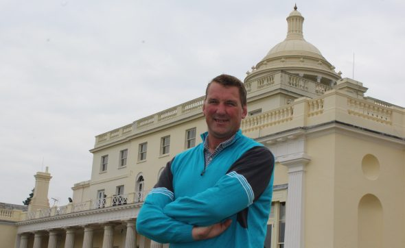 Different Strokes, But Another Sporting Legend Steps Up At Stoke Park
