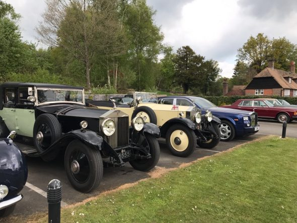 Sweetwoods Park Golf Club Welcomes The Rolls-Royce Enthusiasts' Club