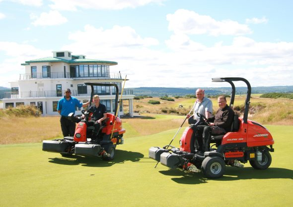 Castle Stuart Greenkeepers Are A Cut Above