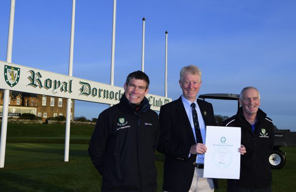 Royal Dornoch's Green Credentials Earns It GEO Award