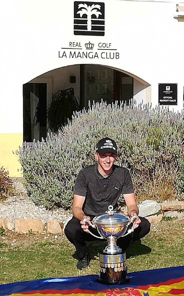 McKenzie Crowned King Of La Manga Club