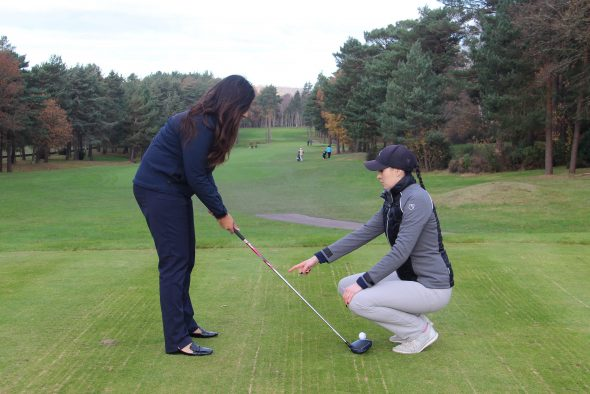 It's Ladies Day At Foxhills For New Golfers