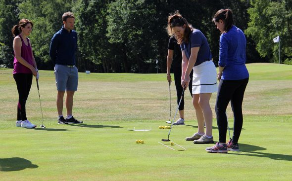 New Women Golfers Find Their Feet At Foxhills