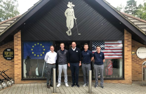 Bjorn Warms Up For Ryder Cup Visit With Foxhills Visit