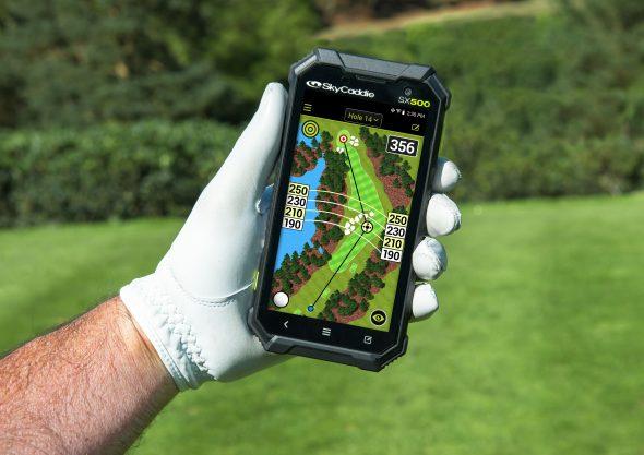 SkyCaddie SX500 Yardages Match Laser, Says PGA Winner