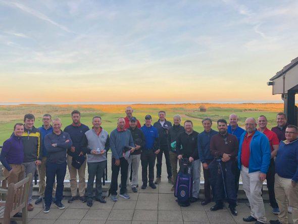 International Field Flocks To Kent Coastline For Championship Links Team Challenge