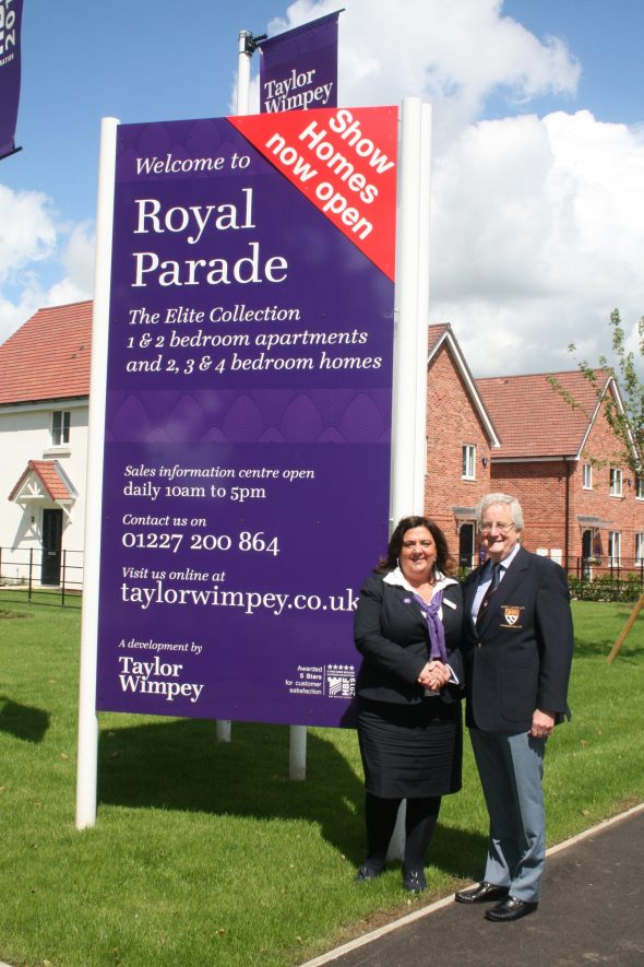 Canterbury Golf Club announce Taylor Wimpey  as Open Festival Sponsor
