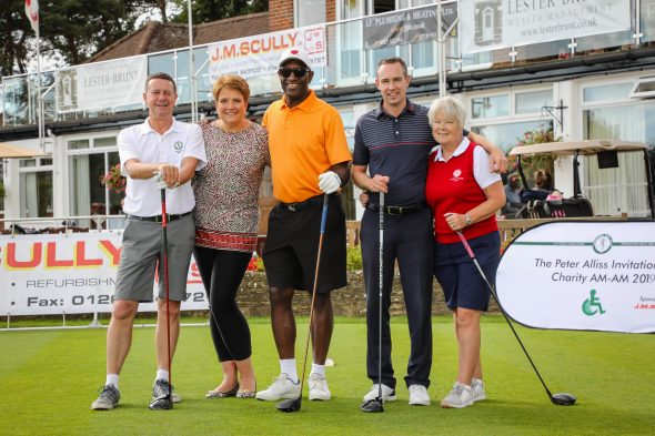 Golf Tournament At Ferndown Golf Club Raises £40,000 For Charity In A Single Day
