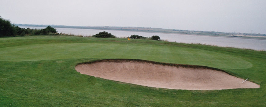 Knott End Golf Club at Knott End Golf Club in Lancashire