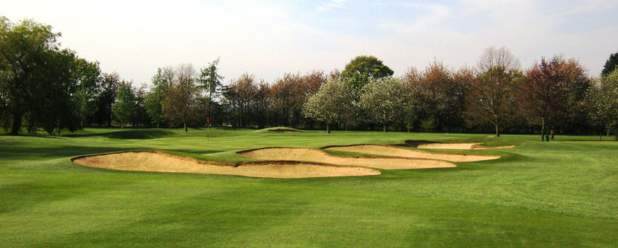 Harpenden Golf Club at Harpenden Golf Club in Hertfordshire