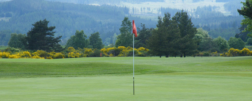 Course at Ballater Golf Club Image