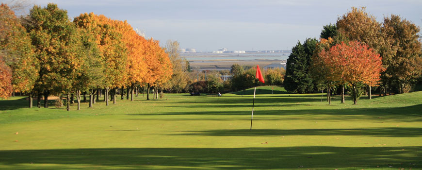 Gillingham Golf Club at Gillingham Golf Club in Kent