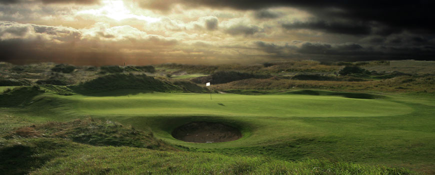 East Course at Saunton Golf Club in Devon