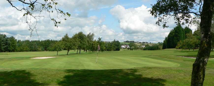 Blackburn Golf Club at Blackburn Golf Club in Lancashire