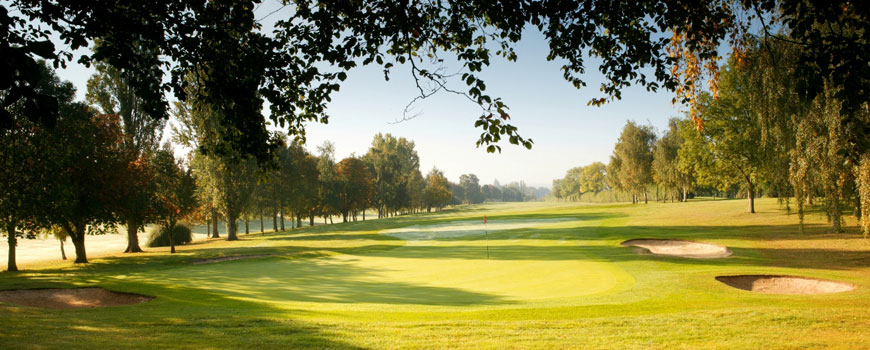 Welwyn Garden City Golf Club at Welwyn Garden City Golf Club in Hertfordshire