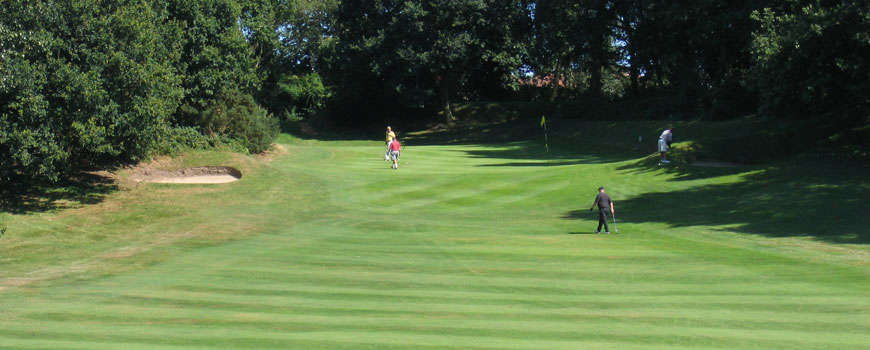 Royal Norwich Golf Club at Royal Norwich Golf Club in Norfolk