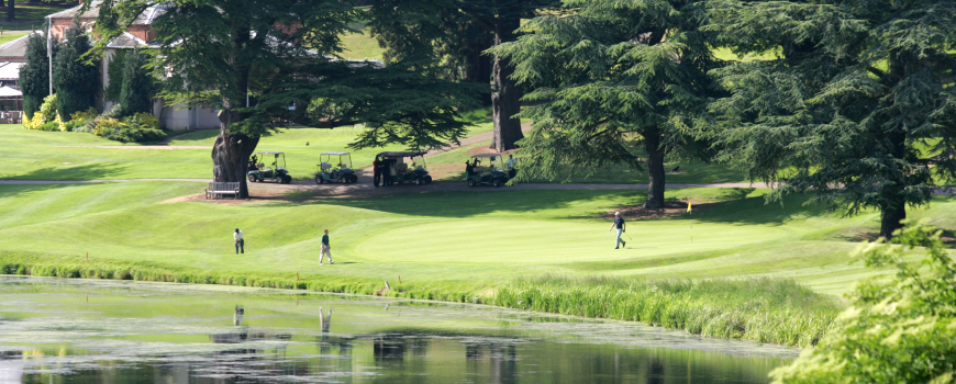 Melbourne Course at Brocket Hall Golf and Country Club in Hertfordshire