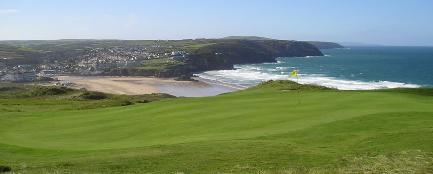 Course at Perranporth Golf Club Image
