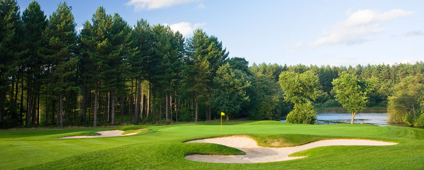 Course at Bearwood Lakes Golf Club Image