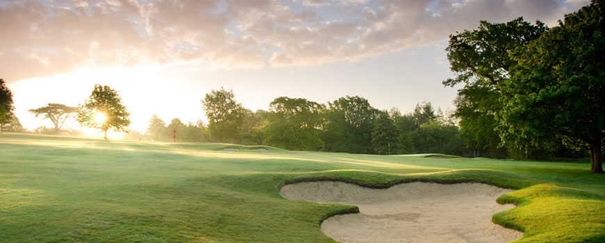 Saffron Walden Golf Club at Saffron Walden Golf Club in Essex