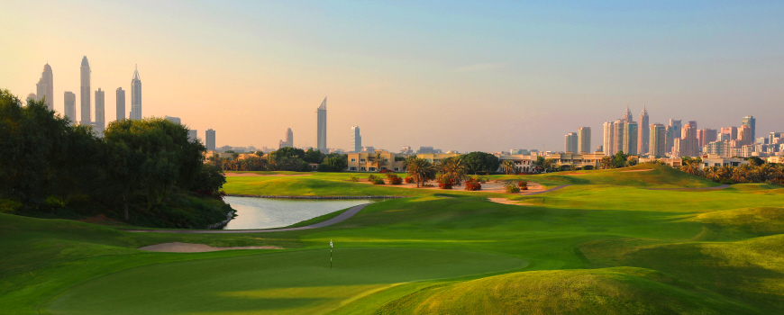 Championship Course at The Address Montgomerie Dubai