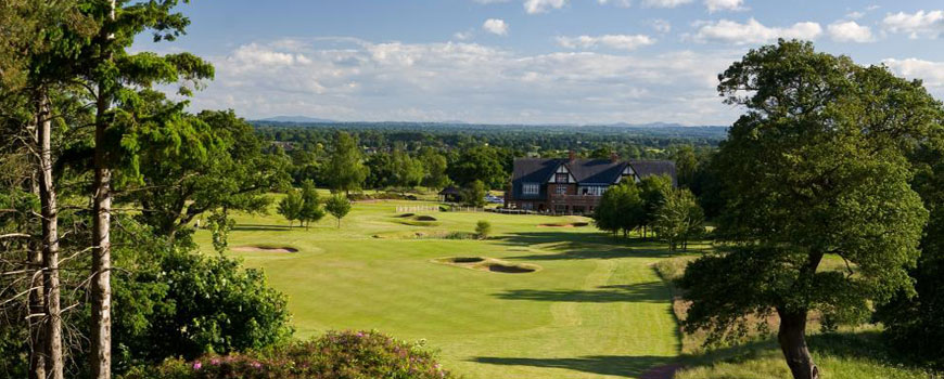 Nicklaus Course  at De Vere Carden Park in Cheshire