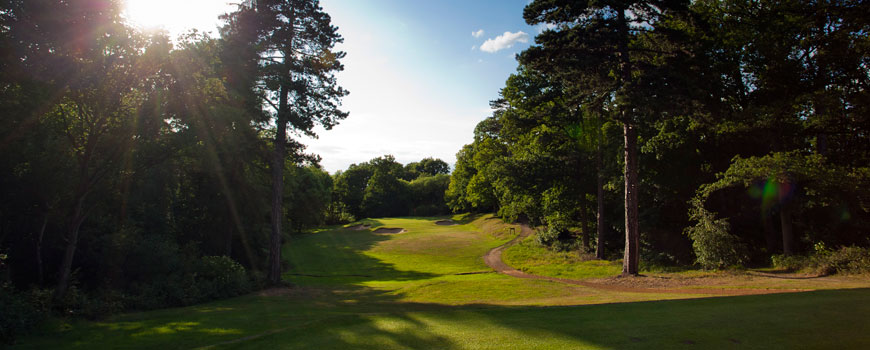 Gerrards Cross Golf Club at Gerrards Cross Golf Club in Buckinghamshire