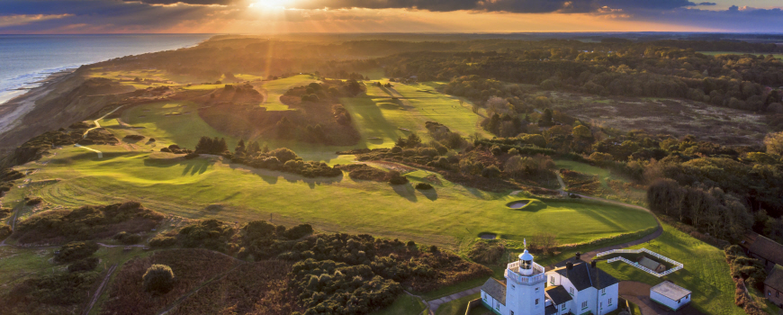 Royal Cromer Golf Club at Royal Cromer Golf Club in Norfolk