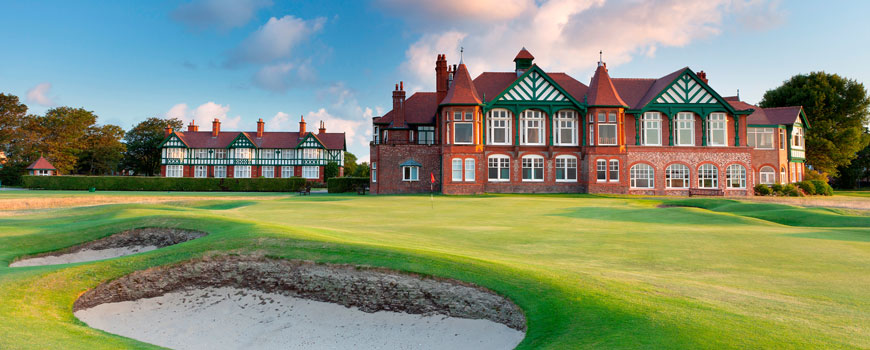 Royal Lytham and St Annes Golf Club at Royal Lytham and St Annes Golf Club in Lancashire