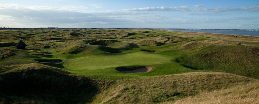 Royal St Georges Golf Club at Royal St Georges Golf Club in Kent