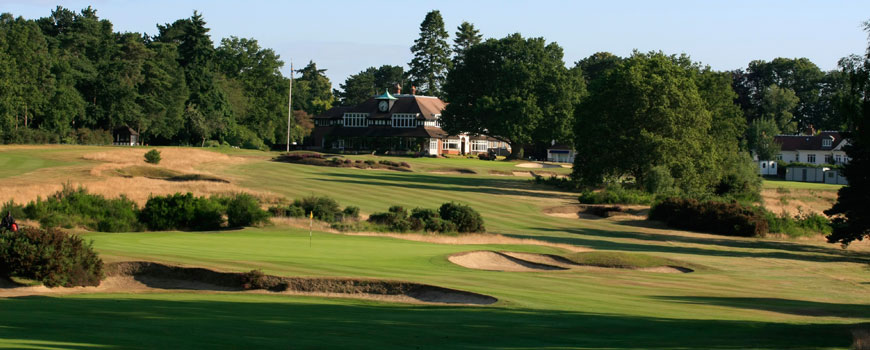 Old Course at Sunningdale Golf Club in Berkshire