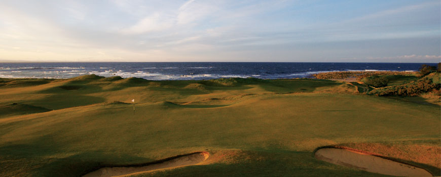 Kingsbarns Golf Links Golf Course Included In The Major Golf Package at Gleneagles