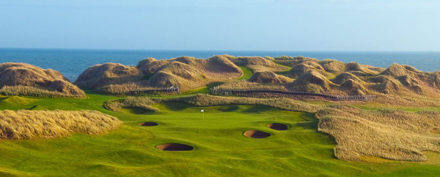 Course at Trump International Golf Links, Scotland Image
