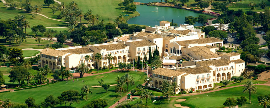 Golf Breaks at La Manga Hotel Principe Felipe
