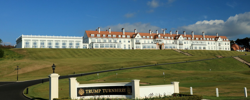 Golf Breaks at Trump Turnberry Scotland
